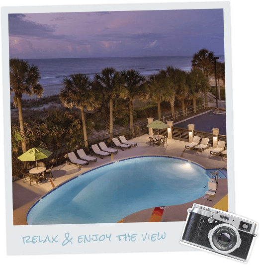 Reges Oceanfront Resort Home: Surfside Beach Oceanfront Hotel
